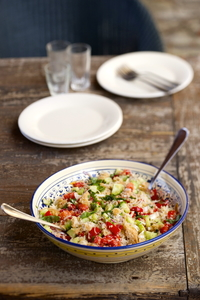 The flavours of Tuscany Panzanella page recipe 26 Panzanella.